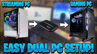 *EASY* Dual PC Streaming Setup Guide - (Capture Card)