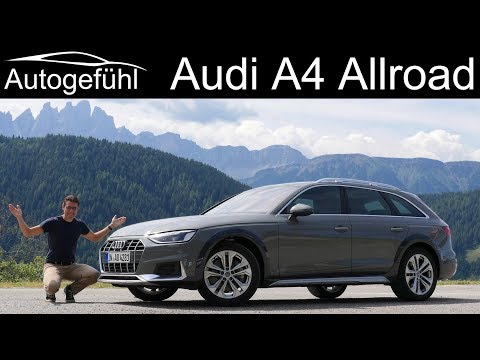 New Audi A4 Allroad FULL REVIEW 2020 Facelift TFSI - Autogefühl
