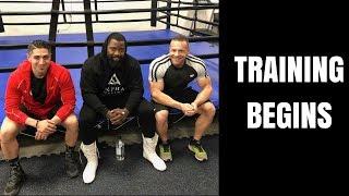 Boxing Training Begins!