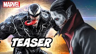 Venom Morbius Teaser Breakdown - Marvel Spider-Man and Deleted Scenes
