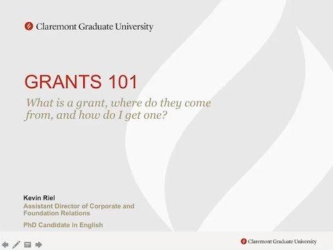 Grants 101