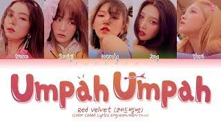 Red Velvet 레드벨벳 Power Up Lyrics Color Coded Engromhan가사
