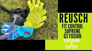Video Reusch Fit Control Supreme G3 Fusion: Goalkeeper Glove Review & Play-test MP3, 3GP, MP4, WEBM, AVI, FLV September 2019
