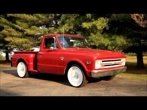 1967 Chevrolet Hot Rod Pickup Shop Patina Truck 22