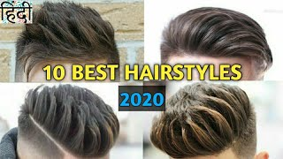2020 Top 10 BEST Hairstyles For Men | NEW Hairstyle 2020 Boy | Style Saiyan