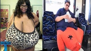 Top 10 People With Unusual Biggest Body Parts In The World - Extraordinary Largest Parts