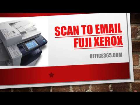 Scan to Email Fuji Xerox - смотреть онлайн на Hah Life
