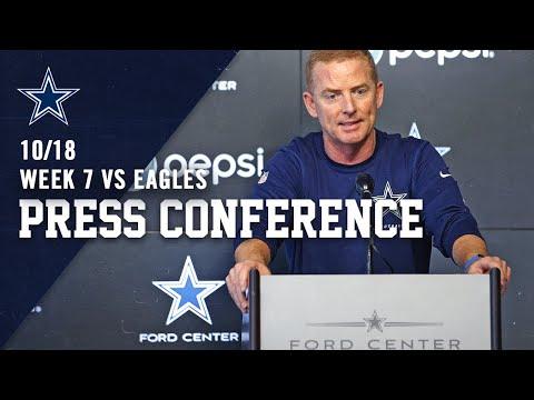 Jason Garrett Updates Amari Cooper Injury For Eagles Game | Dallas Cowboys 2019
