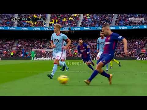 FC Barcelona vs Celta Vigo 2-2 All Goals and EXT Highlights w/ English Commentary 2017-18 HD 720p