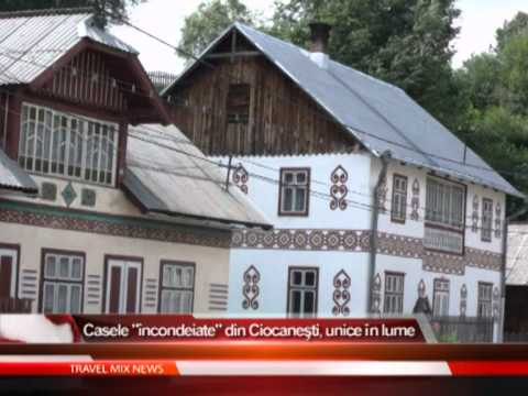 """Casele """"incondeiate"""" din Ciocanesti, unice în lume"""
