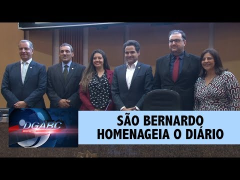 São Bernardo realiza sessão solene em homenagem ao Diário
