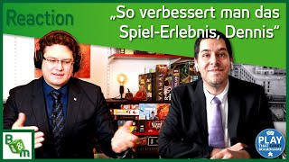 Die besten Brettspiel Utensilien | Reaction Video mit Play That Funky Boardgame