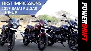 2017 Bajaj Pulsar 135 LS, Pulsar 150 & Pulsar 180 : PowerDrift