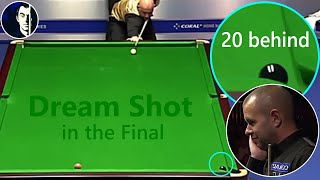 Exceptional achievement in the final by Mark King against Barry Hawkins | 2016 Northern Ireland Open