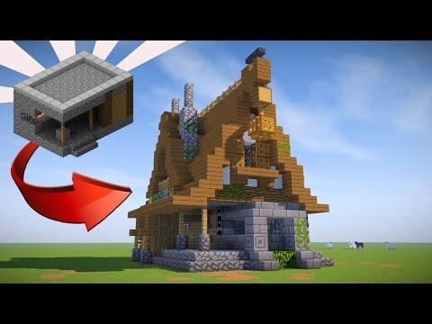 minecraft blacksmith village villager blueprints transform buildings tutorial creations houses idea guide depuis enregistree designs