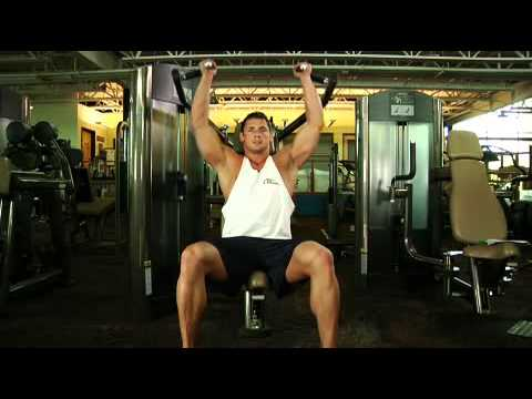 Seated Machine Shoulder (Military) Press