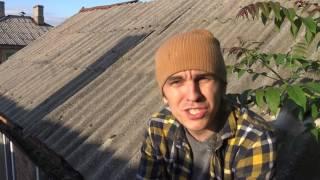 Крыша из шифера  (что такое асбест)