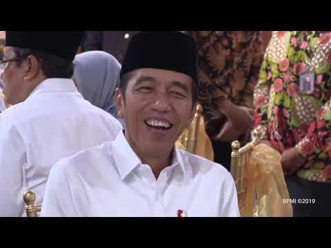 Presiden Jokowi Hadiri Buka Puasa Bersama di Kediaman Ketua DPR, Jakarta, 13 Mei 2019