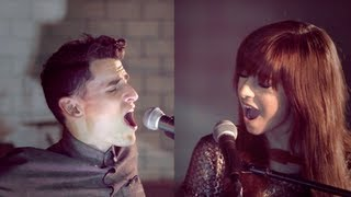 Christina Grimmie & Mike Tompkins - My Song Know What I Did In The Dark & Girl On Fire (Mash Up)