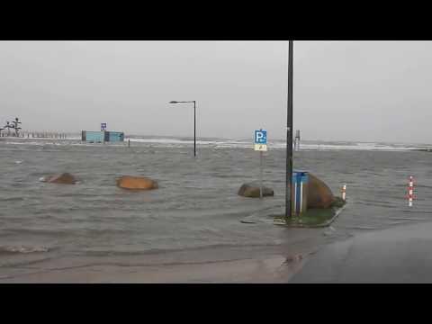 """Tossens - Sturm """"Herwart"""": An der Nordseeküste droht eine schwere Sturmflut 2017"""