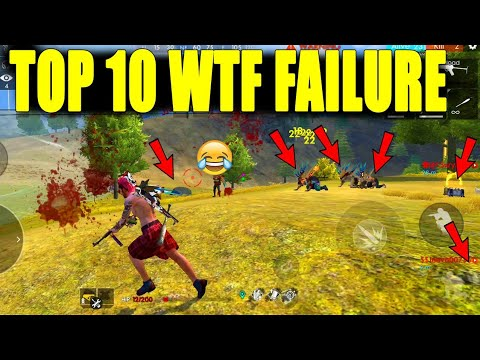 Top 10 WTF Failure moments|| funny failures in free fire|| Run gaming