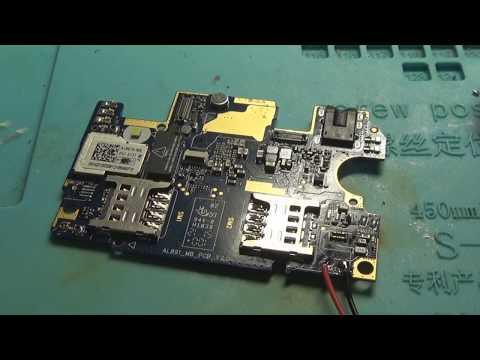 Lenovo P70-A не включается. Ошибочная замена КП MT6325V