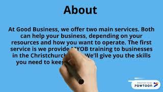 Good Business Ltd for Bookkeeping Christchurch