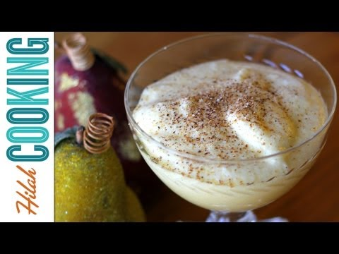 How To Make Egg Nog – Old-fashioned Egg Nog Recipe | Hilah Cooking