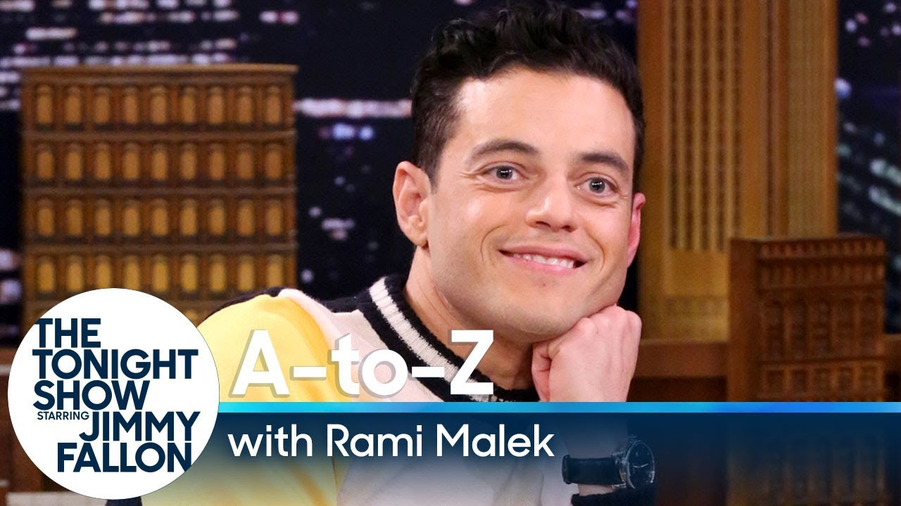 A-to-Z with Rami Malek thumbnail