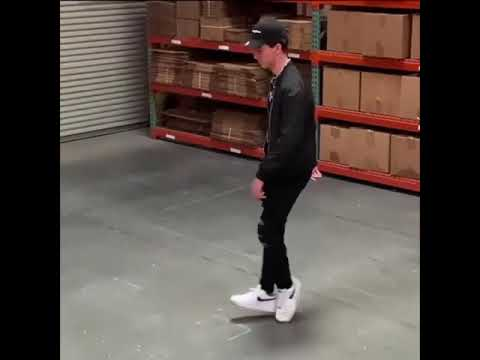 Amazing dancer effortlessly gliding like MJ