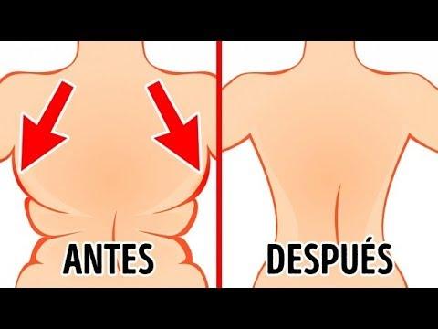 Cuelga la grasa del vientre como arreglar