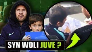 Tajemniczy rysunek SYNA MESSIEGO.. Kibicuje Juve i Ronaldo ? | Plotki Transferowe