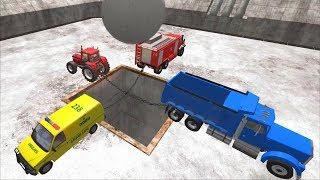 Большой Мега Тест - Машины Помощники и Служебные автомобили| Мультфильм про машинки