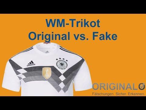 WM Trikot 2018 von Adidas – So erkennst Du Fake und Original