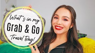 Whats In My Grab & Go Travel Bag! | For The Frequent Traveler
