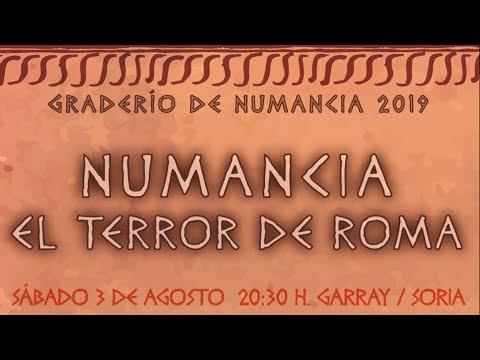Representación popular de Tierraquemada en Numancia.