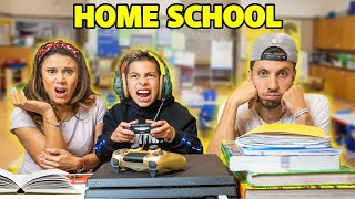 FERRANS FIRST DAY Of HOME SCHOOL! **CRAZY DAY** | The Royalty Family