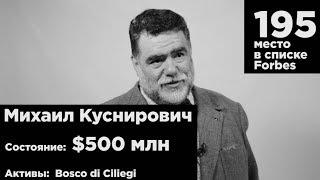 Михаил Куснирович поздравляет Forbes