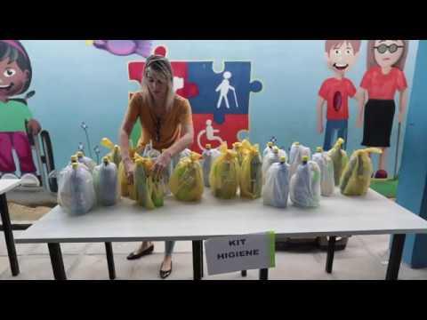 Prefeitura do Recife distribui merenda e kit higiene para alunos da rede municipal