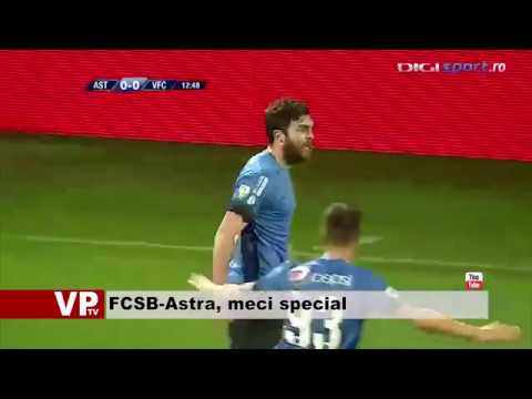 FCSB-Astra, meci special