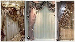 85 Latest chiffon net  Curtains Designs 2020