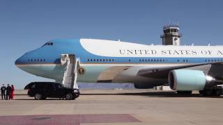 Piloting Air Force One,  An Interview With The Wing Commander
