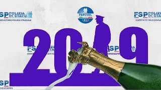 Buon 2019 da FSP Polizia di Stato