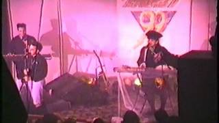 Live Performance Anything Box Soldier and Child at Klub X 01 24 1992