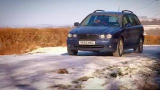 X-Type in Snow - Top Gear