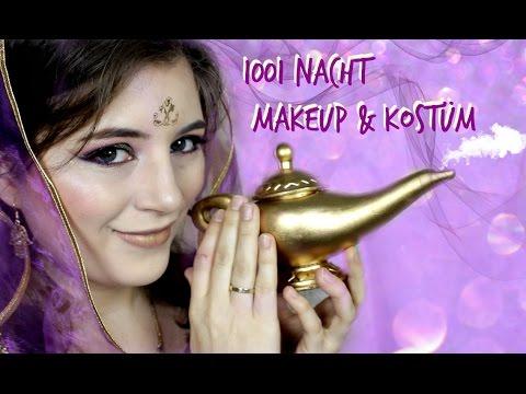 1001 NACHT | Makeup & Kostüm für  Karneval / Fasching