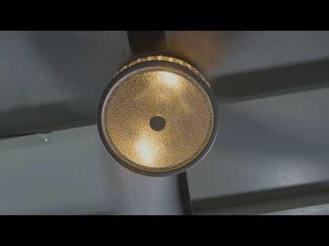 """Parrot Uncle F6209, 52"""" Cason Modern Crystal Chandelier Ceiling Fan"""