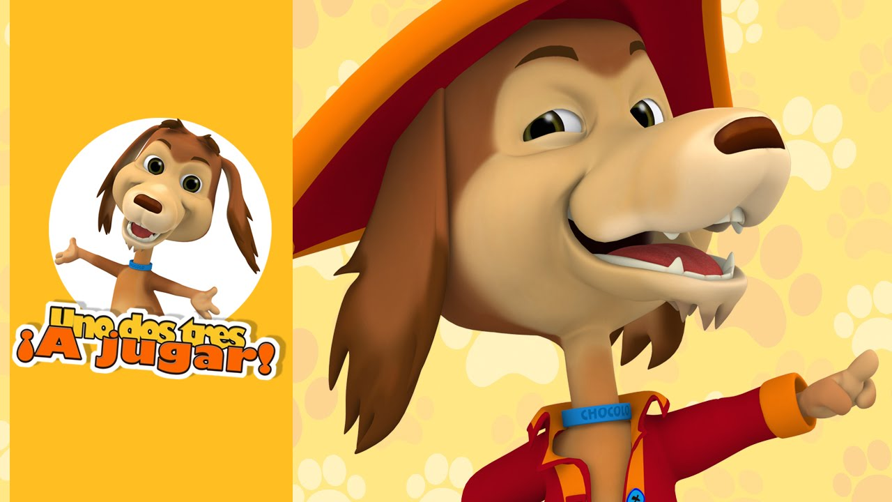 A BUSCAR EL TESORO CON EL PERRO CHOCOLO - Serie Uno dos tres a jugar
