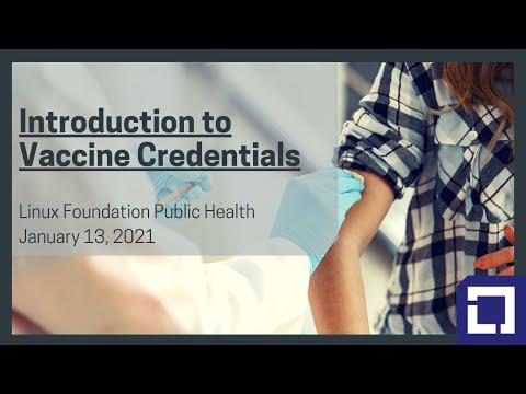 Intro to Vaccine Credentials