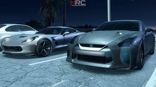 NFS Payback:Alpha 10X GTR Steals the Show! | Street Racing w/ Turbo Civic, APR GTI, C7GS & More